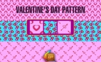 Free vector Vector pattern  Hearts Seamless Pattern