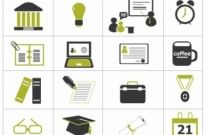 Free vector Vector icon  Higher Education Icons