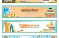 Free vector Vector banner  illustration style of education theme banner design template vector 2