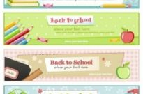 Free vector Vector banner  illustration style of education theme banner design template vector 4