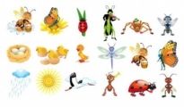 Free vector Vector cartoon  insect vector cute cartoon