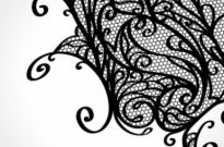 Free vector Vector background  lace pattern background 01 vector