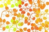 Free vector Vector background  Leaf Background Colorful Vector