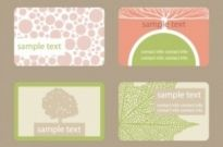 Free vector Vector misc  leaf shading card 01 vector