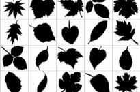 Free vector Vector Silhouettes  Leaf Silhouettes   Free Vector Graphic