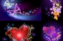 Free vector Vector background  light romantic background vector