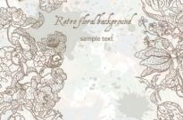 Free vector Vector background  line art pattern background 03 vector