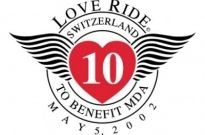 Free vector Vector logo  love ride switzerland