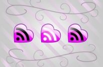 Free vector Vector icon  Love RSS Feed Vector Icons