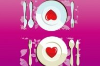 Free vector Vector Heart  Lovely Dinner