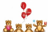 Free vector Vector Heart  Lovely Teddy Bear Vector Graphic