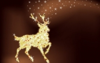Free vector Vector Christmas  Magic christmas reindeer