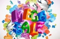 Free vector Vector background  Mega Sale Vector Background