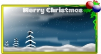 Free vector Vector clip art  Merry Christmas 2010