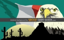 Free vector Vector background  Mexican background
