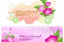 Free vector Vector background  morning glory and the dream vector background