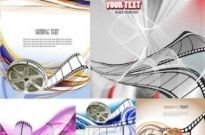 Free vector Vector background  Movie Film Vector background