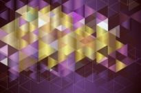Free vector Vector abstract  Multicolored mosaic background