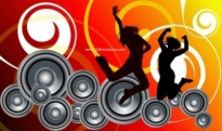 Free vector Vector background  Music Background Vector
