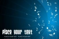 Free vector Vector background  music keys blue background 01 vector