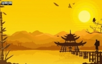 Free vector Vector background  Oriental Background