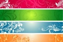 Free vector Vector banner  Ornate Scroll Banner