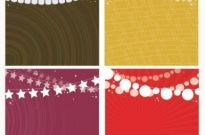 Free vector Vector background  Party Garlands Background