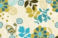 Free vector Vector background  peacock plant vector background