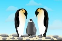Free vector Vector Animal  Penguins in Love