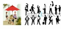 Free vector Vector people  people silhouettes vector