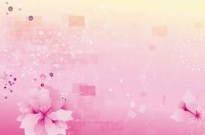 Free vector Vector background  Pink Flowers Background