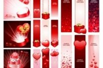 Free vector Vector Heart  practical elements of vector 1 valentine day