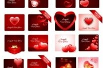Free vector Vector Heart  practical elements of vector 2 valentine day