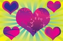 Free vector Vector Heart  Purple Heart Vectors