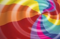 Free vector Vector background  Rainbow Color Vector Background