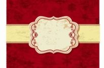 Free vector Vector misc  red christmas background