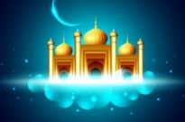 Free vector Vector background  religious architecture background 04 vector