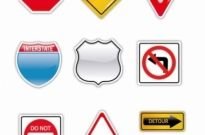 Free vector Vector misc  Road Signs