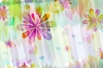 Free vector Vector background  romantic floral pattern background vector design 1
