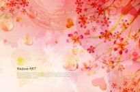 Free vector Vector background  romantic floral pattern background vector design 5