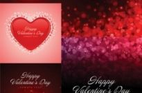Free vector Vector background  romantic love cards and background vector