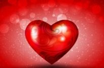 Free vector Vector background  Romantic Valentine's Day background