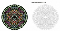 Free vector Vector misc  Round Ornament
