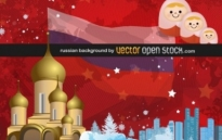 Free vector Vector background  Russian background
