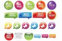 Free vector Vector misc  Sale Shopping Tags and Signs Vector Graphics