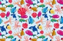 Free vector Vector background  Seamless Background with The Fishes in The Sea