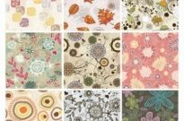 Free vector Vector background  Seamless Floral Background