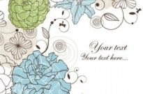 Free vector Vector background  seamless floral background 4 vector