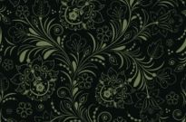 Free vector Vector background  Seamless Floral Background Dark Green