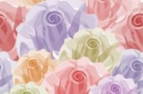 Free vector Vector background  Seamless Flower Vector Background